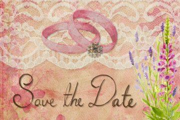 הדפסה על מוצרים לצילומי Save the Date
